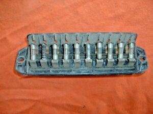image is loading fiat-850-spider-10-fuse-fuse-box-124-