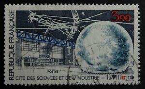 Timbre poste. France. n°2409. Cité des sciences.