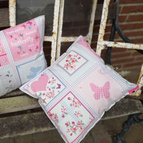 Toile Cirée Coussin Butterfly-Outdoor Jardin et de coussins en matière de salon 3 Tailles