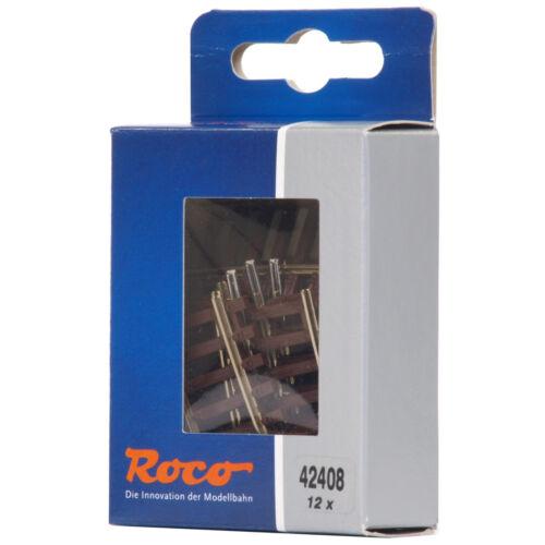Roco 42408 H0 Gebogenes Gleis R2 12 Stück 7,5° + + NEU /& OVP
