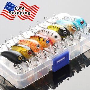 8Pcs-Fishing-Lures-Kit-Treble-Hooks-Crankbait-Tackle-Bass-Minnow-Baits-With-Box