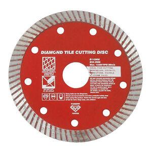 115mm-4-1-2-034-Diamond-Porcelain-Stone-TILE-Turbo-CUTTING-Disc-Angle-Grinder-Blade
