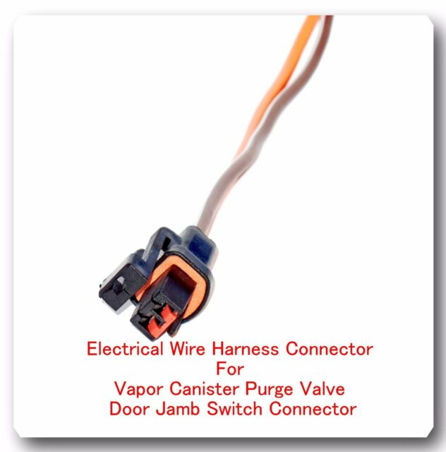 Phenomenal 2 Wire Pigtail Electrical Harness Connector For Vapor Canister Purge Wiring Database Ilarigelartorg