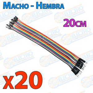 20-Cables-20cm-Macho-Hembra-jumper-dupont-2-54-arduino-protoboar-cable