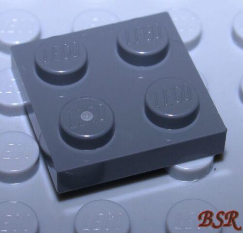 HR42 100 Stück dunkelgrau DkStone 1//3 Stein 2x2 Platte 3022  4211094 /& NEU !