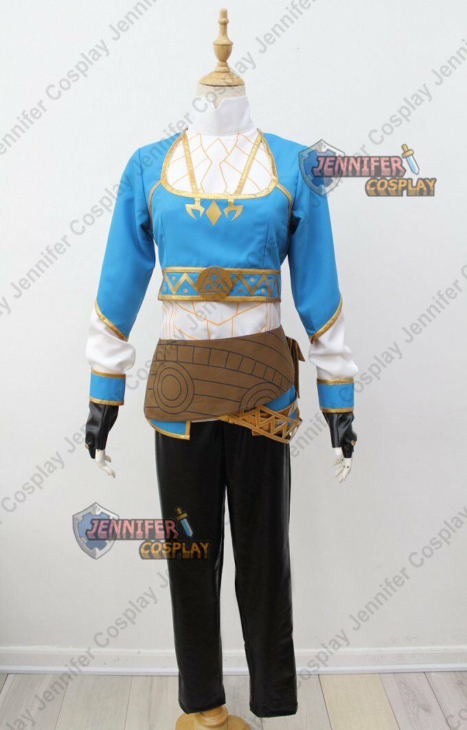 Legend of Zelda - Breath of the Wild Princess Zelda Cosplay Costume