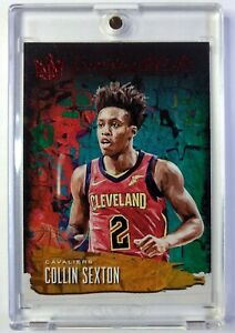 2018-19 Panini Court Kings Emerging Artists Ruby Collin Sexton RC #14, #'d/99