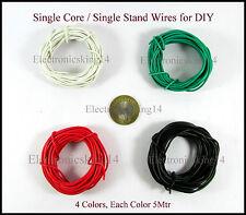 Branded 20 meter Single Core / Single Stand breadboard jumper hookup wire