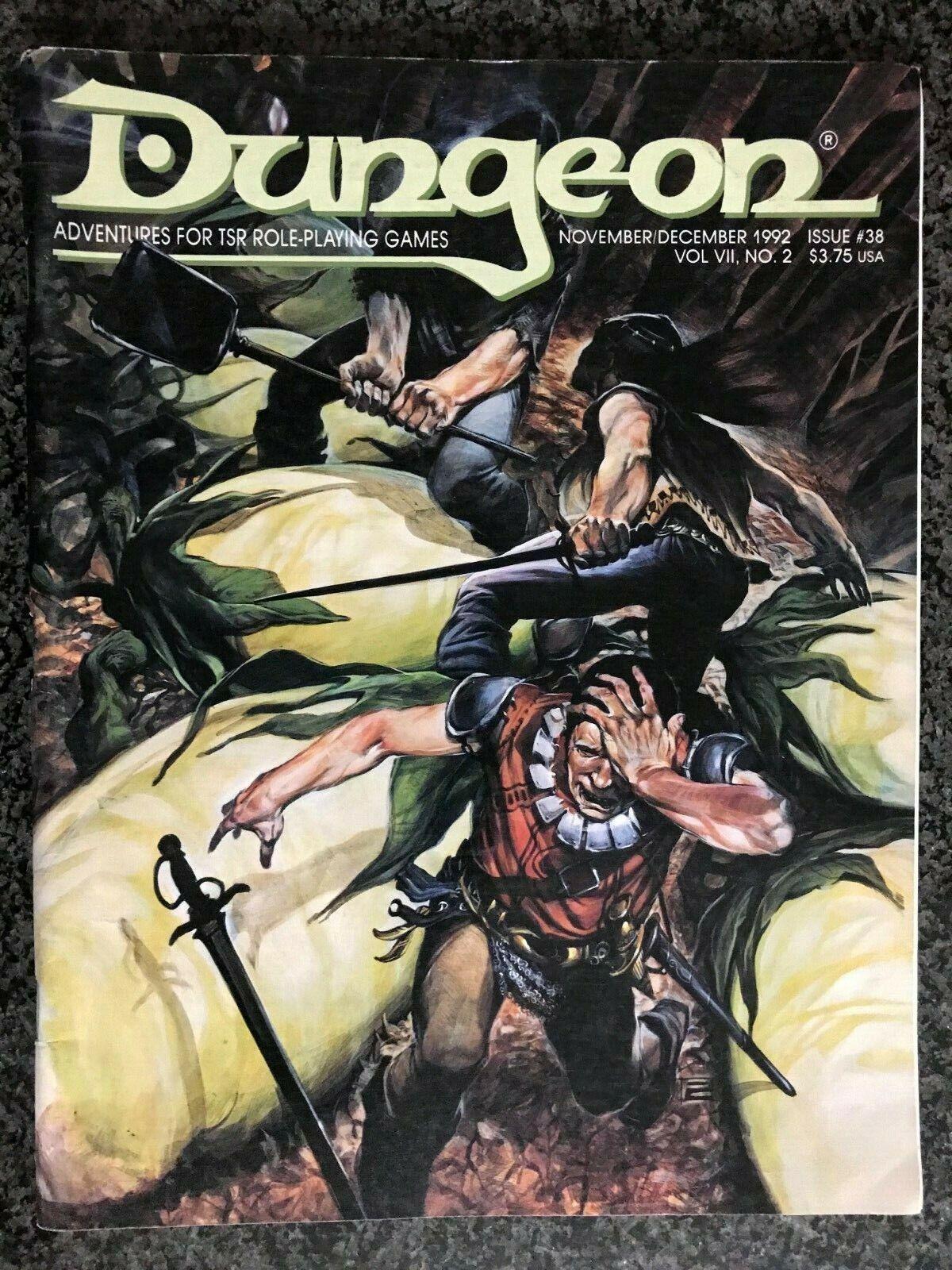 SHIPS FREE AD&D D&D  DUNGEON Magazine   38  Forgotten Realms Ravenloft++