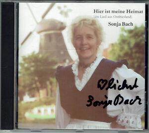 Sonja-Bach-Hier-ist-meine-Heimat-CD-mit-original-signiertem-Booklett