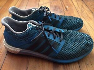 2cfe43b00710b Image is loading Adidas-Solar-Boost-Men-039-s-Shoes-Blue-