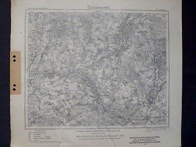 Verantwortlich Karte Des Deutschen Reiches 297 Zielenzig I.d. Neumark, Sulęcin, Sternberg, 1909
