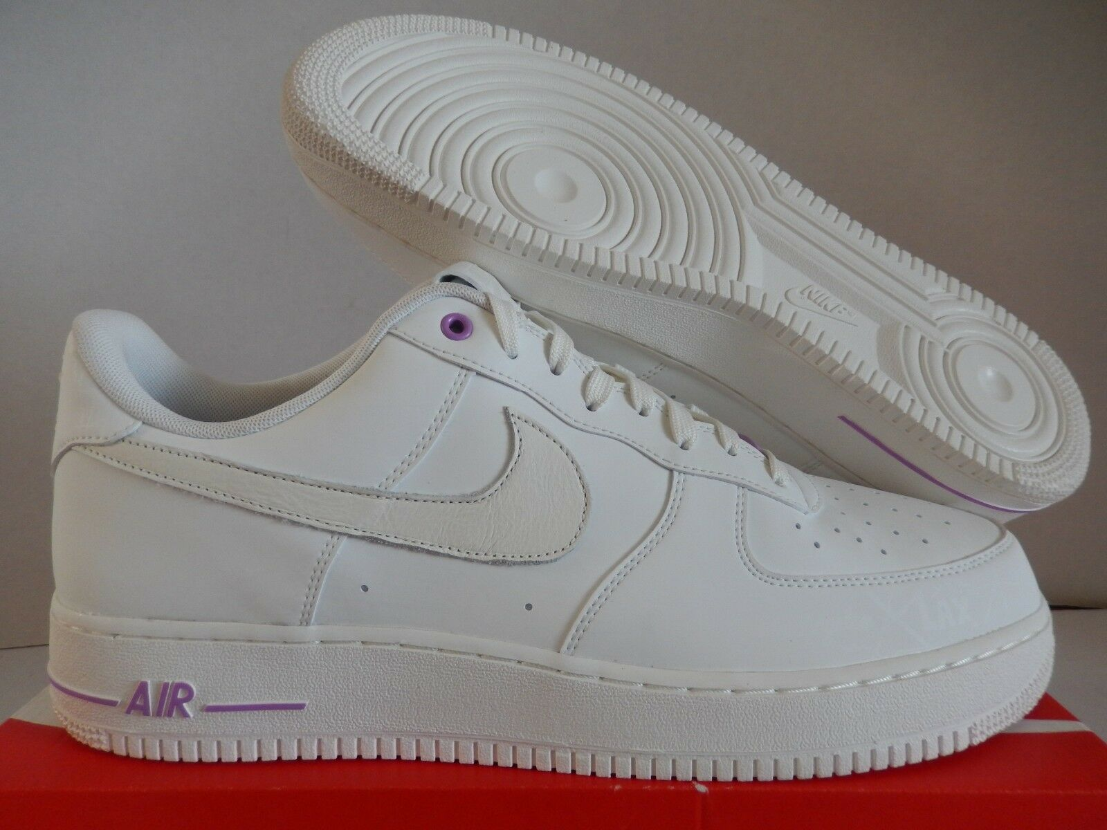 NIKE AIR FORCE 1 LOW ID PREMIUM LA CITY PACK LASER OFF WHITE SZ 14 [AR3870-992]