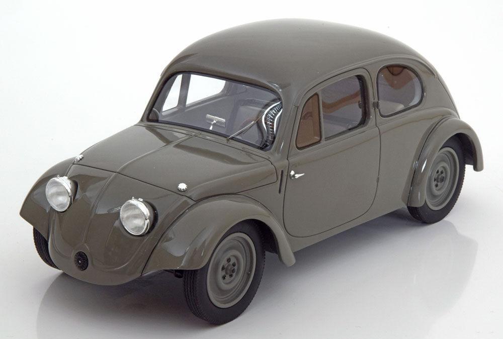BOS 1936 Volkswagen tipo V3 coche de prueba gris Limited Edition 1000 escala 1 18  Raro