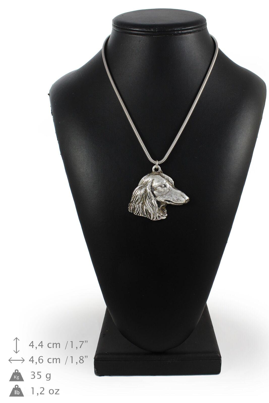 Tackel type 2 - collier en Silber plaqué sur une chaîne en Silber Art Dog FR