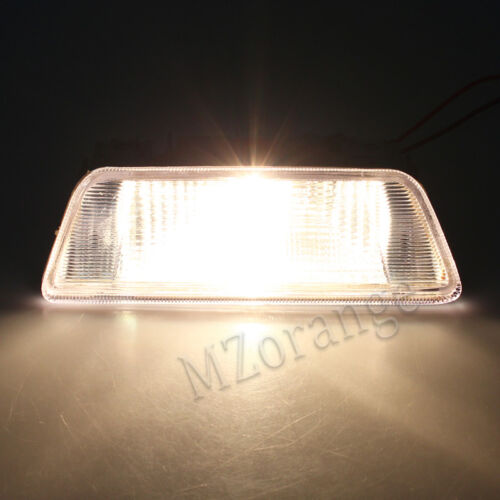 White Right For Nissan X-Trail T31 2008-13 Rear Bumper Fog Lamp Brake Reflector
