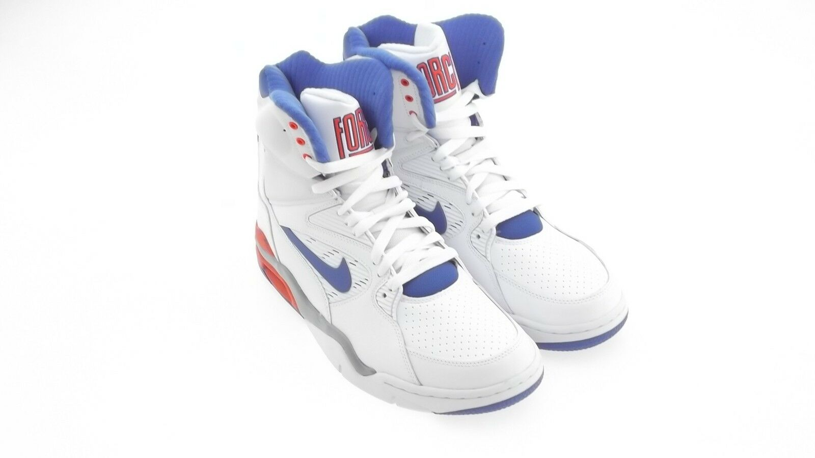 684715-101 Nike Men Air Command Force white bluee red