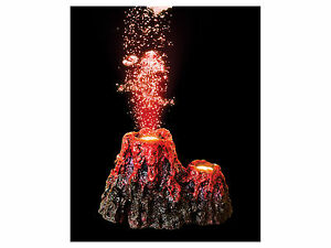 Super-Underwater-LED-Volcano-Aquarium-Ornament-Fish-Tank-NEW-AND-IMPROVED