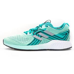 timeless design e0944 644a5 Image is loading Adidas-Aerobounce-Women-039-s-Sneakers-AQ0538-Aqua-