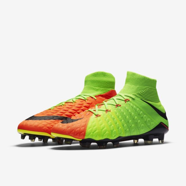 the best attitude 46b14 a907b Nike Hypervenom Phantom III DF FG Firm Ground Soccer Cleats 860643 308 Sz  8.5