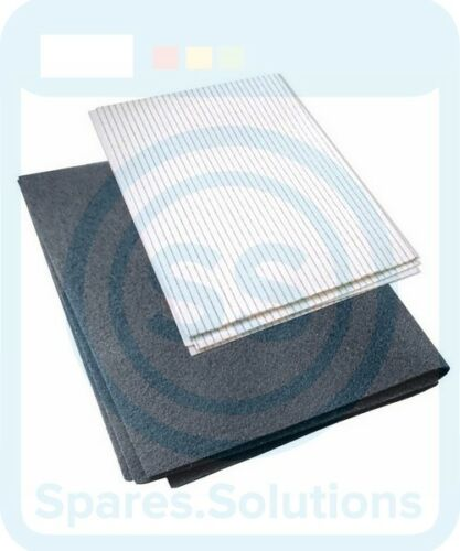 Belling Replacement Cooker Hood Grease Paper /& Carbon Fibre Filter