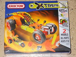 Erector Xtreme Dragster New Construction Toy Meccano Building Toy