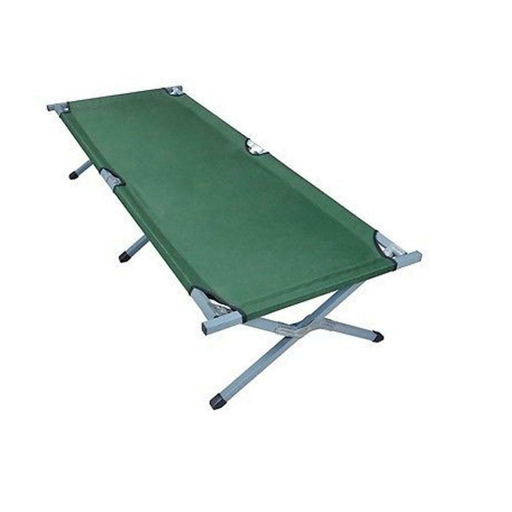 Ultralight Compact Folding Aluminium Alloy Camping  Cot Bed Army Foldaway Bed US  be in great demand