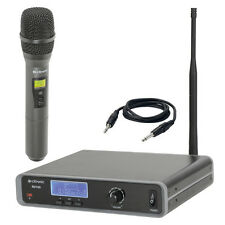 Citronic RU105-H Tuneable UHF Wireless Handheld Radio Microphone + Receiver Kit