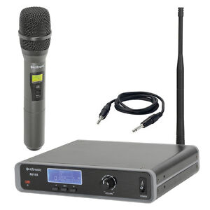 Citronic-RU105-H-Tuneable-UHF-Wireless-Handheld-Radio-Microphone-Receiver-Kit