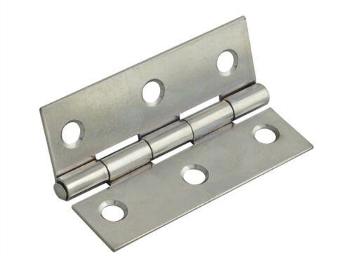 4 Pulg. Pack De 2-fgehngbtpc10 Culata Bisagra pulido acabado en cromo de 100 mm