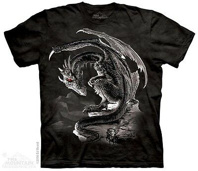 THE MOUNTAIN DRAGON BRAVERY MISPLACED PAGAN FANTASY KNIGHT T TEE SHIRT S-5XL