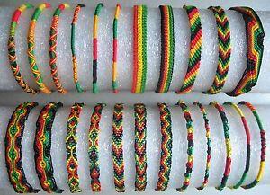 RASTA,bracelet,d,039,amitie,Bracelet,coton,soie,