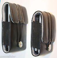 Garmin Nuvi 265 2250 1350 1370 1390 Leather Carry Case 3.5 Gps 010-11305-01