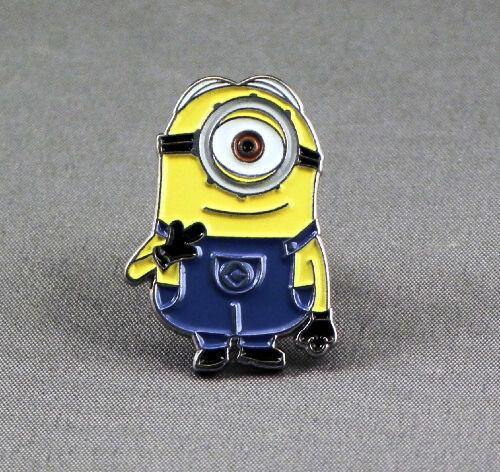 Metal Enamel Pin Badge Brooch One Eye 1 Eye Stuart Stewart Min Me
