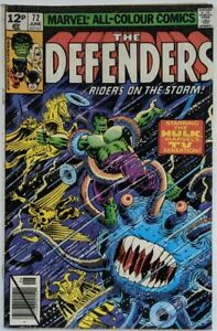 Marvel All-Colour Comics The Defenders 72 June 1979: Up From The Sky!