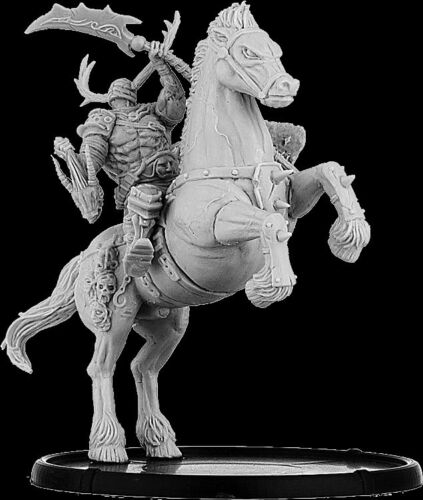 Darklands YSN-KYS-0110 Crom of Carn Wrach War-Drune on Foot /& Horse Chaos Lord