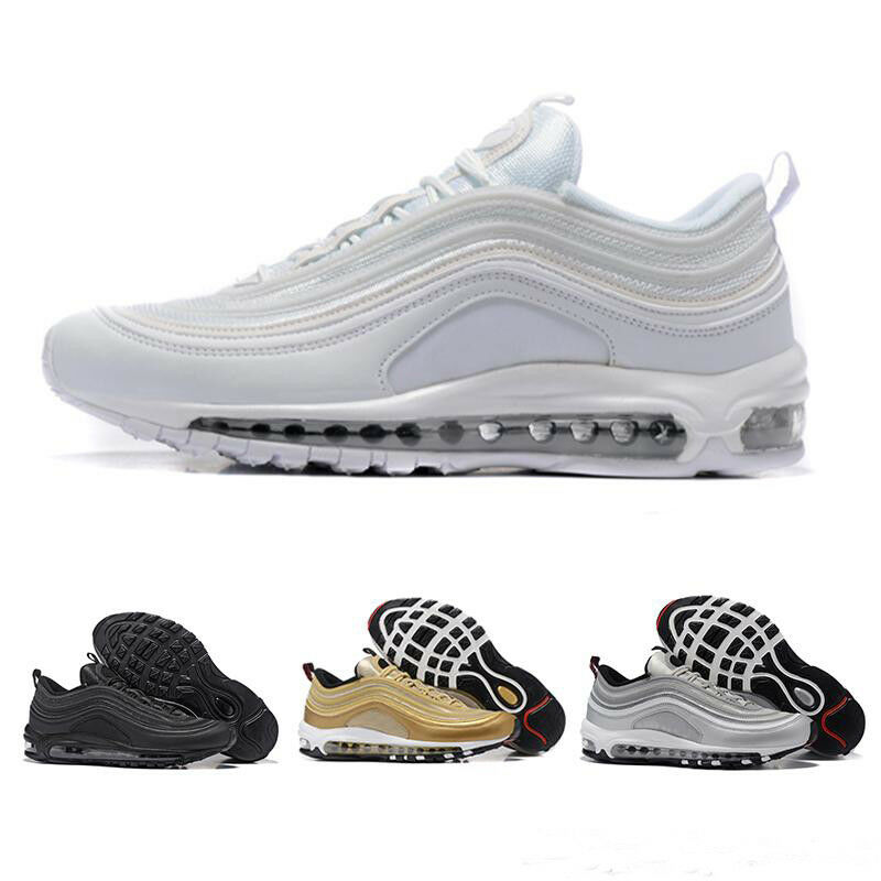 New Hotsell Air Max 97 Premium Mens Classic Running shoes Lifestyle Sneakers A1
