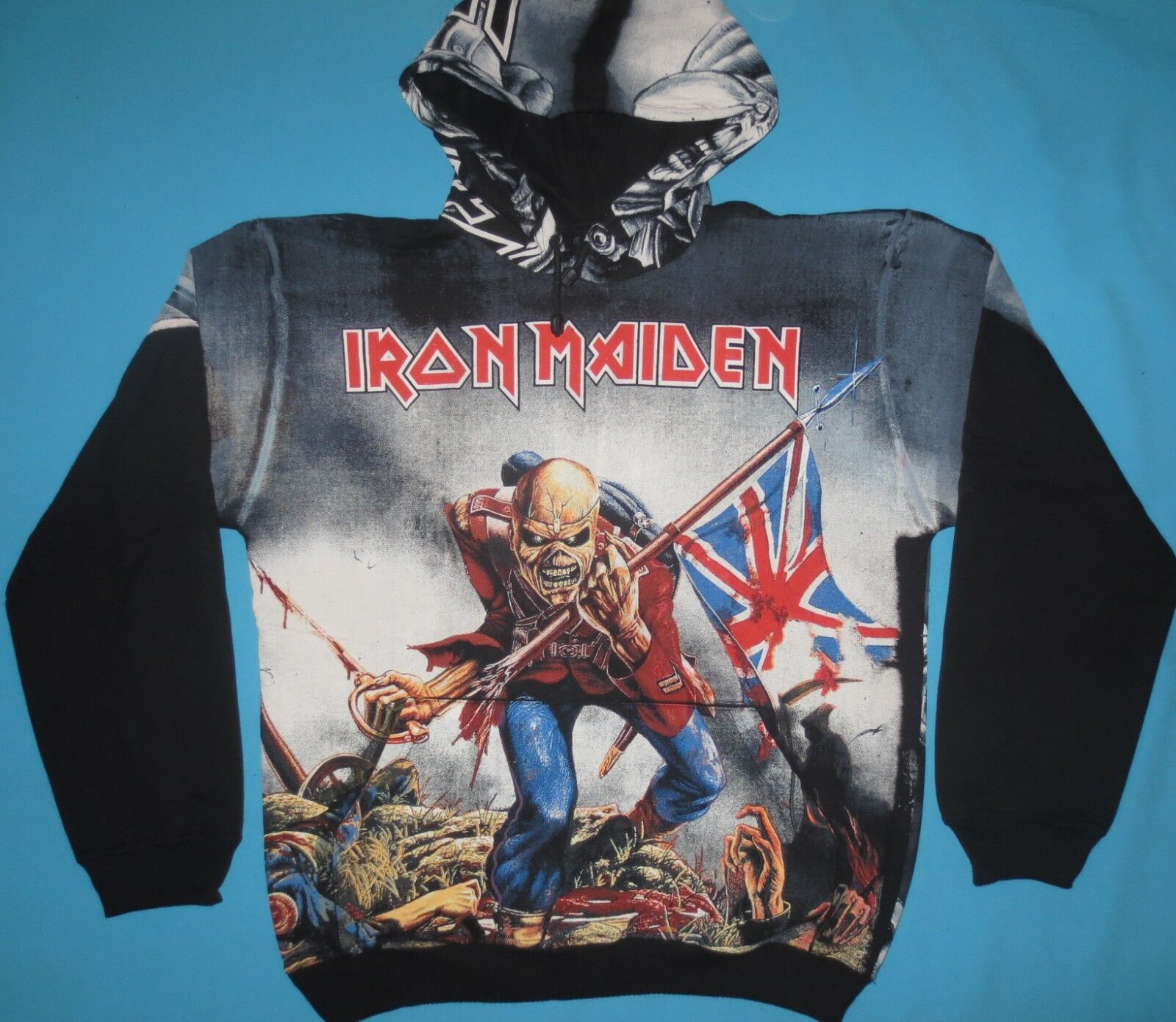 Iron Maiden - The Trooper Hood Sweater Sweatshirt Pullover Hoodie