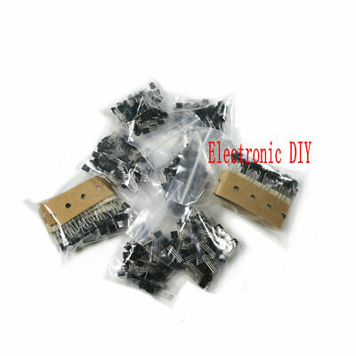 350PCS 7Value Triode Transistor Assortment Kit TO-92 S8050//S8550//9012//9013//S9014