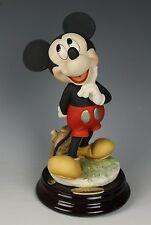 "Giuseppe Armani Disney Figurine 1269C ""Mickey Mouse"" MINT WorldWide"