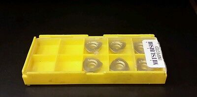 10 Pcs MITSUBISHI JDMT120420ZDSR-ST FH7020 Carbide Inserts   **BRAND NEW**