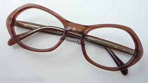 Metzler-Oldschoolbrille-Vintage-Acetatfassung-Gestell-ausgefallen-Damen-size-M