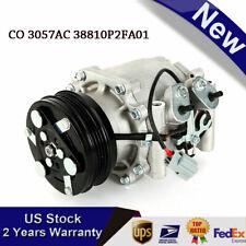 Ac Conditioner Compressor For 94 00 Honda Civic 97 01 Cr V Co 3057ac 38810p2fa01