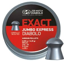JSB Exact JUMBO Express.22 5.52 MATCH DIABOLO PELLETS campo target HFT exacts