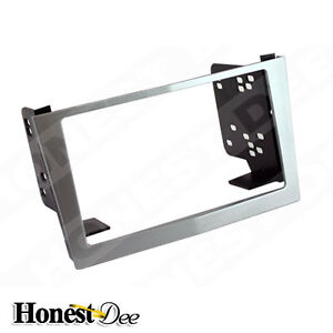 Metra 95-3107S Silver Astra Double-Din Radio Install Dash Kit ,Car Stereo Mount