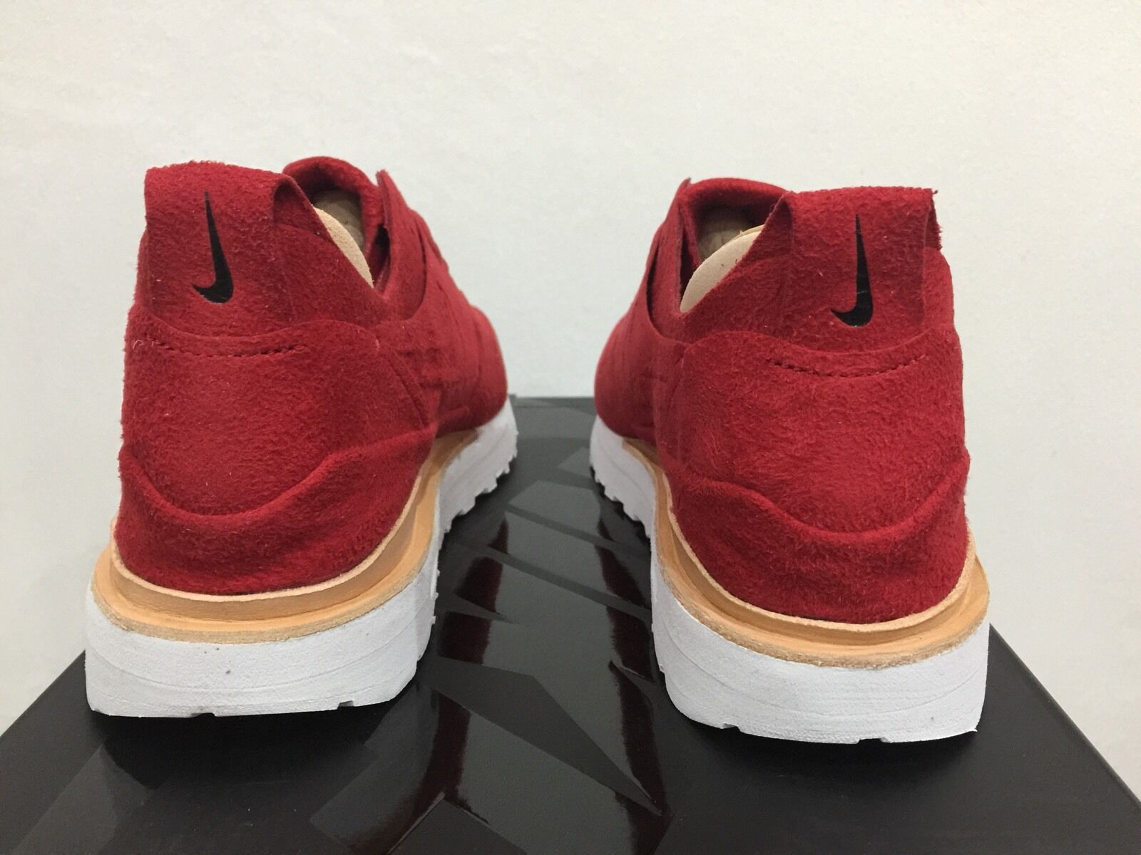 Nike AIR MAX 1 1 1 ROYAL ROSSO DA PALESTRA TG EUR 41 [847671 661] NUOVO CON SCATOLA 100% AUTENTICO 033532