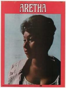 ARETHA-FRANKLIN-Poster-Sticker-Original-1969-2