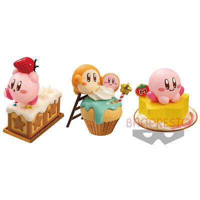PLS Banpresto Hoshi no Kirby Fluffy Puffy MINE figure 3 type set JP