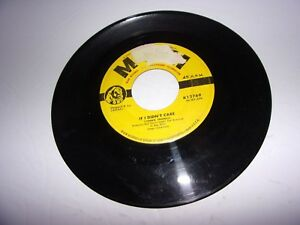 Connie-Francis-If-I-Didn-039-t-Care-Toward-The-End-Of-The-Day-45-Rpm-1959