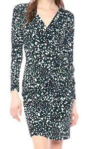 Lark /& Ro Womens Classic Long Sleeve Wrap Dress Brand
